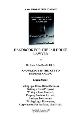 Handbook for Jailhouse Lawyers  2004 edition cover
