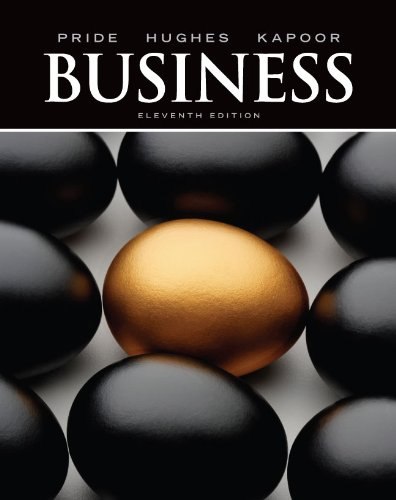 Business  11th 2012 edition cover