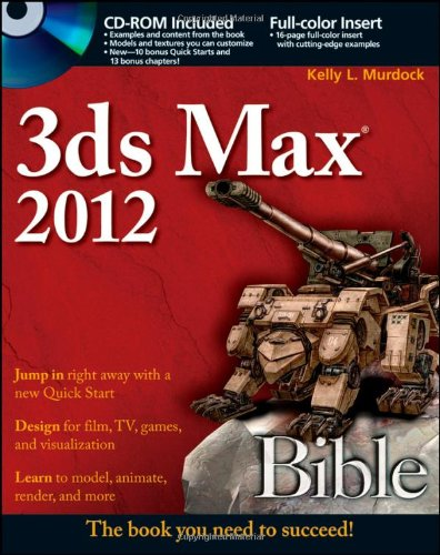 3ds Max 2012   2011 edition cover