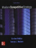 Modern Competitive Strategy  4th edition cover