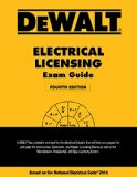 DEWALT Electrical Licensing Exam Guide Based on the NEC 2014 4th 2015 edition cover