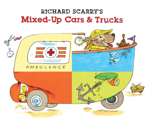Richard Scarry's Mixed-Up Cars and Trucks   2011 9781402772207 Front Cover
