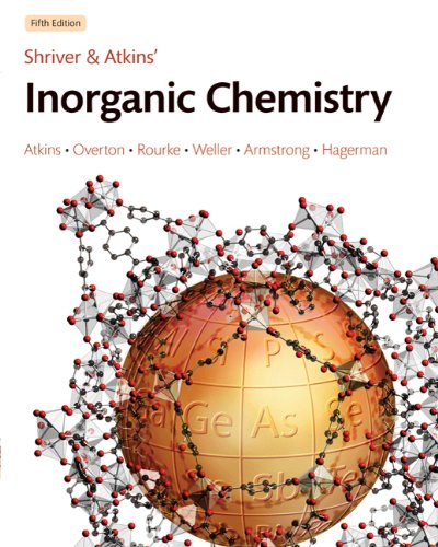 Inorganic Chemistry  5th 2010 edition cover