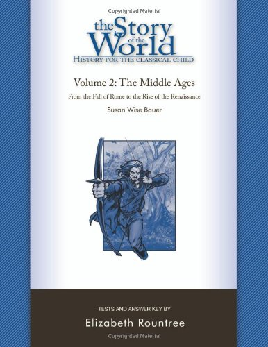 Story of the World Tests Volume Two the Middle Ages  N/A 9781933339207 Front Cover