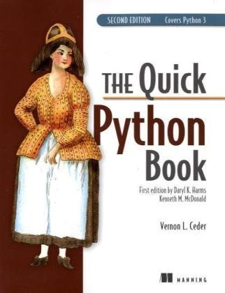 Quick Python Book  2nd 2009 edition cover