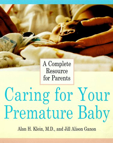 Caring for Your Premature Baby   1998 9780062736208 Front Cover