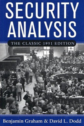 Security Analysis 1951  3rd 2005 edition cover