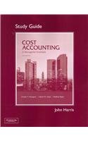 Student Study Guide for Cost Accounting  14th 2012 edition cover
