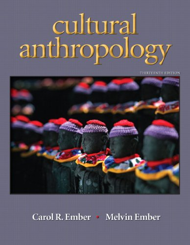 Cultural Anthropology  13th 2011 edition cover