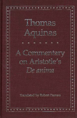 Commentary on Aristotle's de Anima   1999 9780300074208 Front Cover