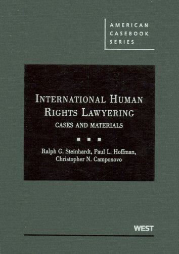 International Human Rights Lawyering   2009 edition cover