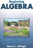 BEGINNING ALGEBRA >CUSTOM< N/A 9780536509208 Front Cover