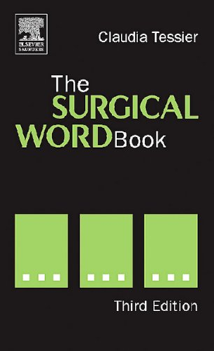 Surgical Word Book  3rd 2005 edition cover
