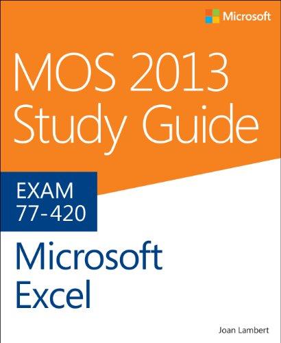 Microsoft Excel Exam 77-420  2014 edition cover