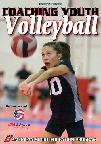 Coaching Youth Volleyball  4th 2007 (Revised) 9780736068208 Front Cover