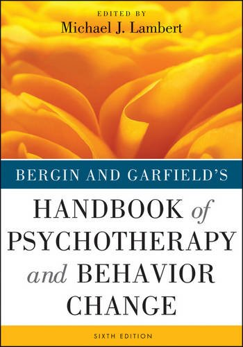 Handbook of Psychotherapy and Behavior Change  6th 2013 edition cover