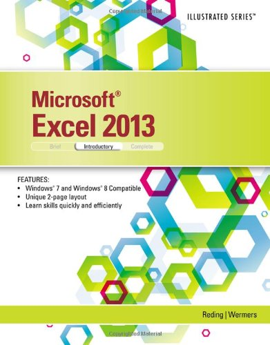 Microsoft Excel 2013: Illustrated Introductory  2013 edition cover