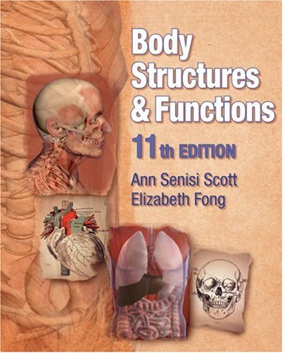Body Structures and Functions  11th 2009 edition cover