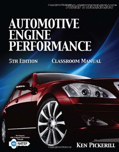 Today's Technician Auto Engine Performance 5th 2010 edition cover