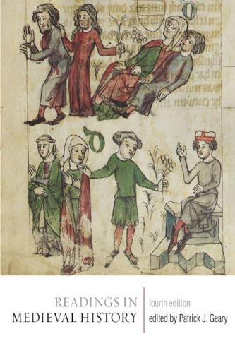 Readings in Medieval History  4th 2010 (Revised) edition cover