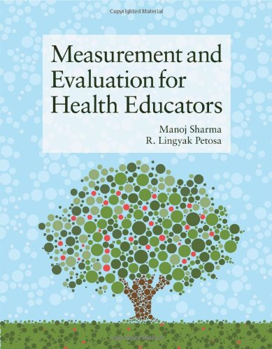 Measurement and Evaluation for Health Educators   2014 edition cover