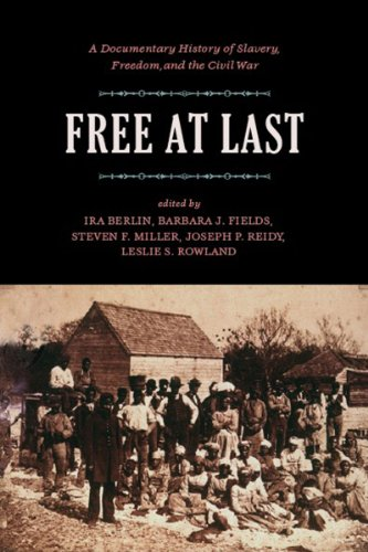 Free at Last A Documentary History of Slavery, Freedom, and the Civil War  2007 edition cover