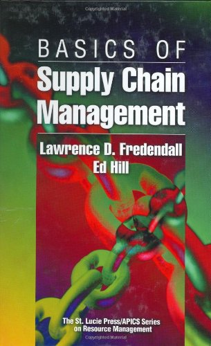 Basics of Supply Chain Management   2001 edition cover