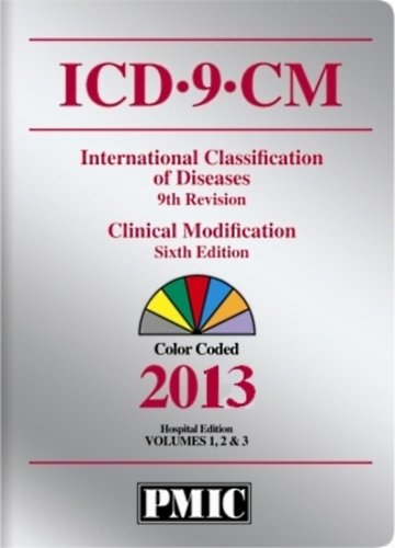 ICD-9-CM 2013 Hospital Editions, Volumes 1, 2 and 3:   2012 9781936977208 Front Cover