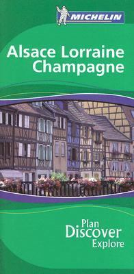 Alsace Lorraine Champagne  3rd 2006 9782067119208 Front Cover