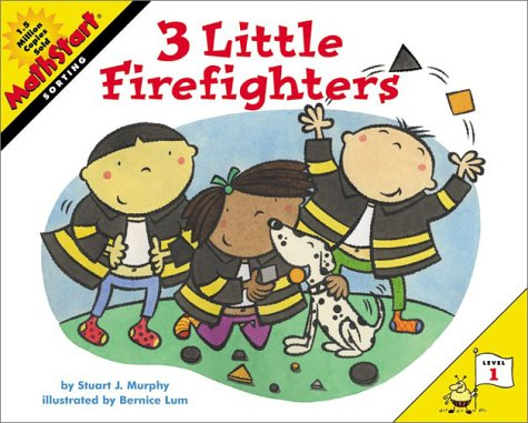 3 Little Firefighters   2003 9780060001209 Front Cover