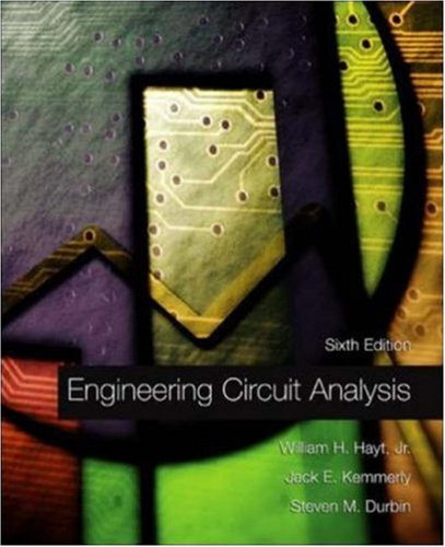 Engineering Circuit Analysis with Replacement CD ROM  6th 2002 (Revised) edition cover