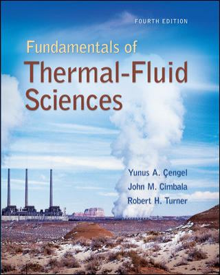 Fundamentals of Thermal-Fluidsciences 4th 2011 edition cover