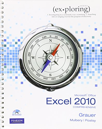 Microsoft Excel 2010 + Myitlab:   2013 9780133486209 Front Cover