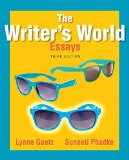 Writer's World  3rd 2015 9780134038209 Front Cover