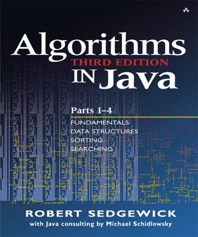 Algorithms in Java  3rd 2003 (Revised) edition cover