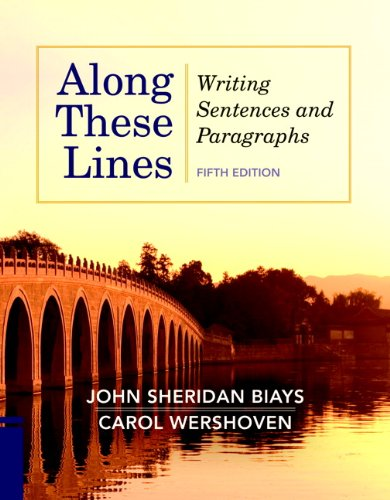 Along These Lines Writing Sentences and Paragraphs 5th 2012 (Revised) edition cover