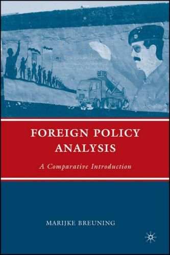 Foreign Policy Analysis A Comparative Introduction  2007 edition cover