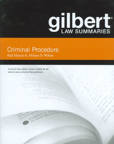 Criminal Procedure  18th 2011 (Revised) edition cover