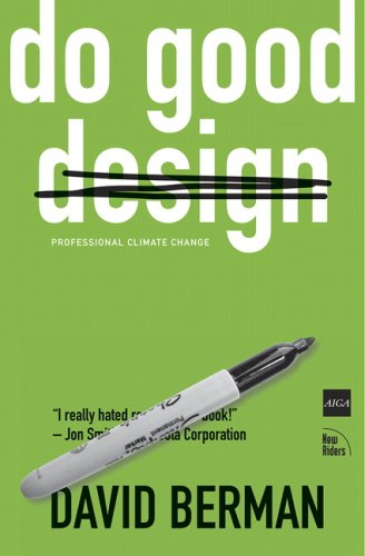Do Good Design How Design Can Change the World  2009 edition cover