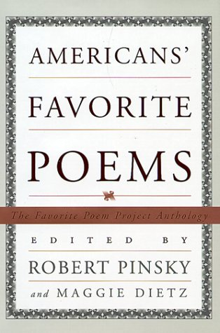 America's Favorite Poems 200 Poems from the Favorite Poem Project with Comments by the People Who Chose Them  2000 edition cover