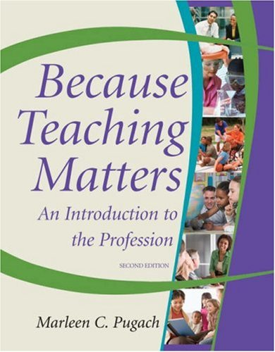 Because Teaching Matters  2nd 2009 edition cover