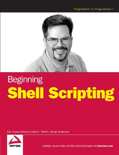 Beginning Shell Scripting   2005 edition cover