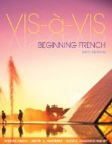 VIS-A-VIS:BEGINNING FRENCH-ACC N/A 9781259116209 Front Cover