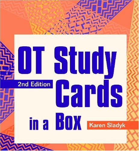 OT Study Cards in a Box  2nd 2003 edition cover