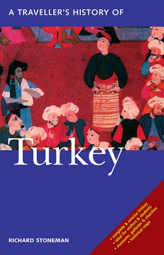 Traveller's History of Turkey  4th 2016 edition cover