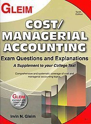 Cost/Managerial Accounting Exam Questions and Explanations:   2014 edition cover