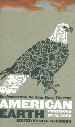 American Earth Environmental Writing since Thoreau  2008 edition cover