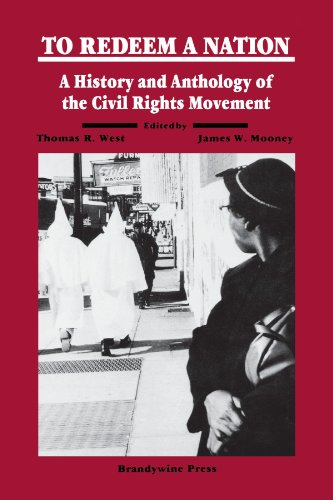 To Redeem a Nation A History and Anthology of the Civil Rights Movement  1993 edition cover