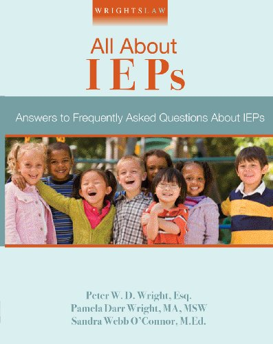 Wrightslaw All about IEPs N/A edition cover