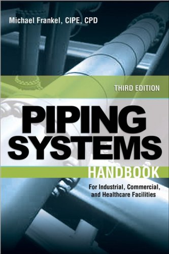 Facility Piping Systems Handbook For Industrial, Commercial, and Healthcare Facilities 3rd 2010 (Handbook (Instructor's)) edition cover